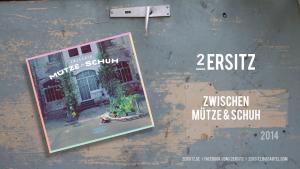 ZWISCHEN MÜTZE & SCHUH Werbeposter
